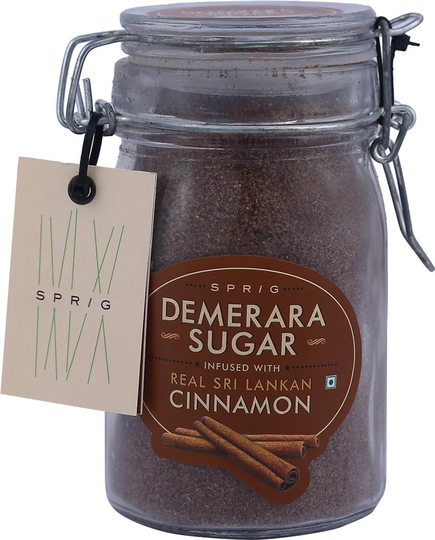 Sprig Demerara infused with Real Srilankan Cinnamon Sugar