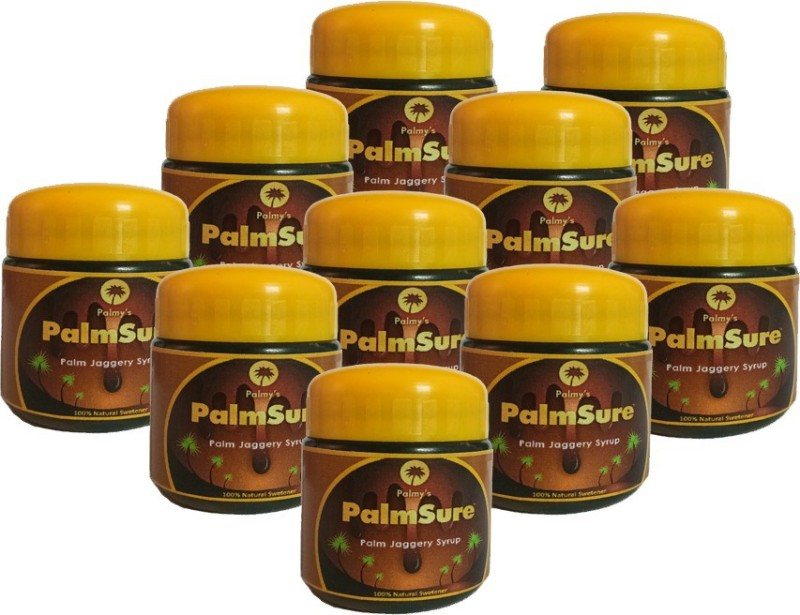 palmy's palmsure Natural Table Pack Sugar(550 g Pack of 10)