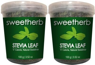Sweetherb Stevia Leaf Sugar(200 g Pack of 2)