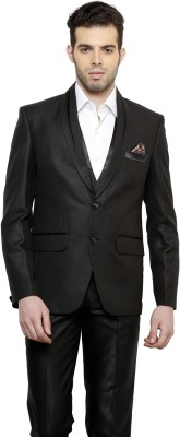 Tatkim SINGLE BREASTED Solid Men's Suit