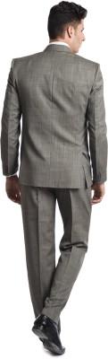 Wintage OCM Mill Merino Wool Solid Men's Suit