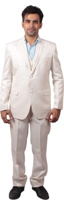 Shaurya-F Double Breasted Solid Men,s Suit