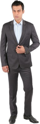 Jhampstead Checkered Men's Suit