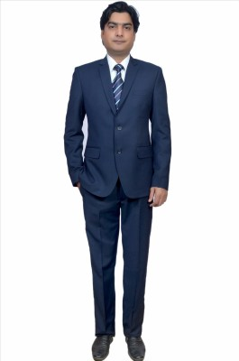 Adam In Style Premium-8 Single Breasted Solid Men's Suit