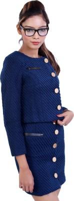Ameri Single Breasted Woven Women's Suit