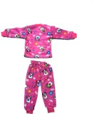 KIDS COUTURE Pink Velvet soft Fabric Nec...