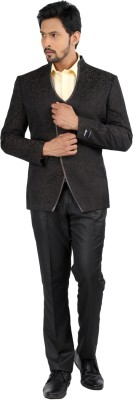 Oxemberg Single Breasted Printed Men's Suit