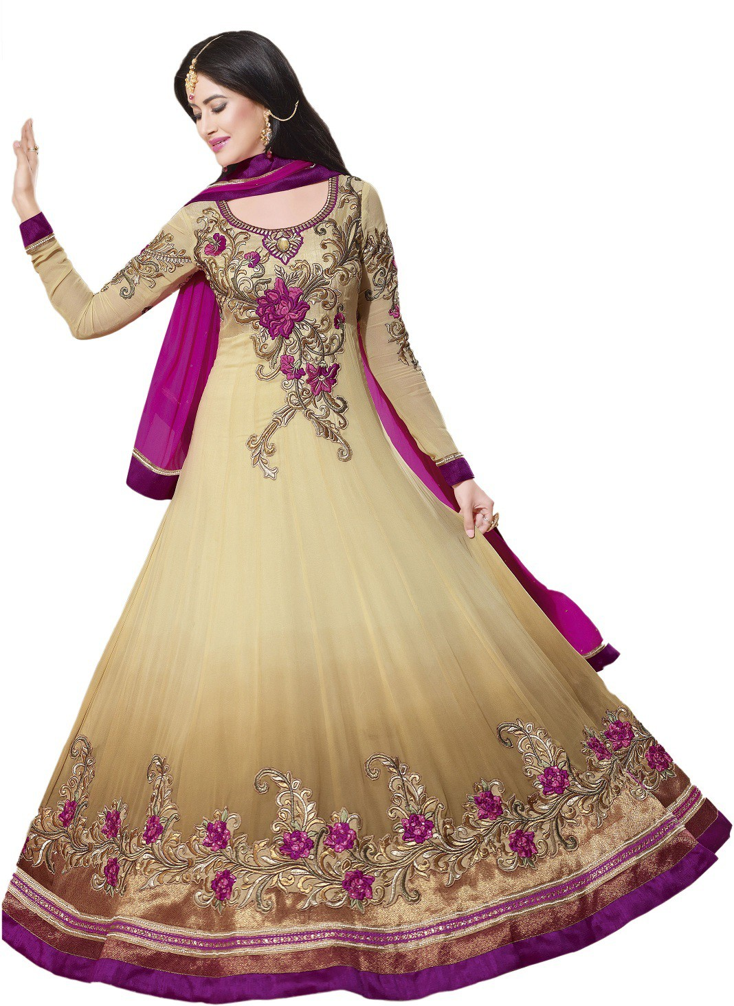 Padam Shree Embroidered Womens Suit