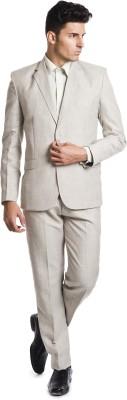 Wintage OCM Mill Linen Range Solid Men's Suit