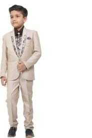 Naveens Suit Solid Boys Suit