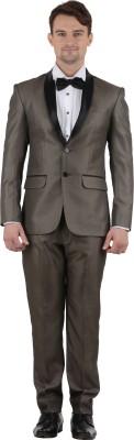 Azio Design Tuxedo Solid Men's Suit