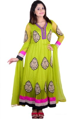 SMUK Single Embroidered Women's Suit