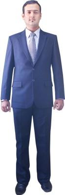 Kinger Single Breasted Solid Men's Suit