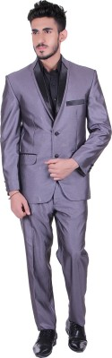 Protext Single Breasted Solid Men's Suit