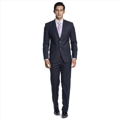 Adam In Style Thunder Single Breasted Solid Men's Suit
