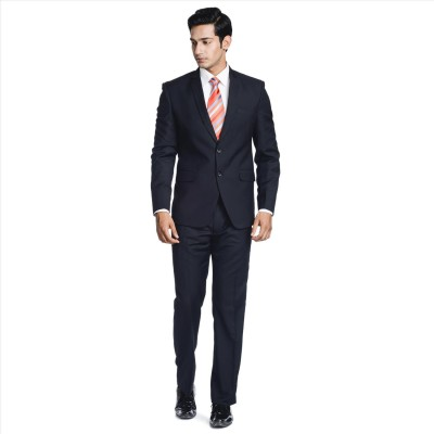 Adam In Style Carban Single Breasted Solid Men's Suit