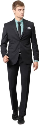 Van Heusen Single Breasted Checkered Men's Suit