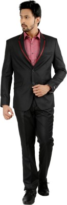 Oxemberg Single Breasted Striped Men's Suit