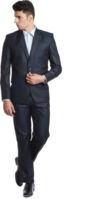Wintage Reid&Taylor Merino Wool Solid Men's Suit