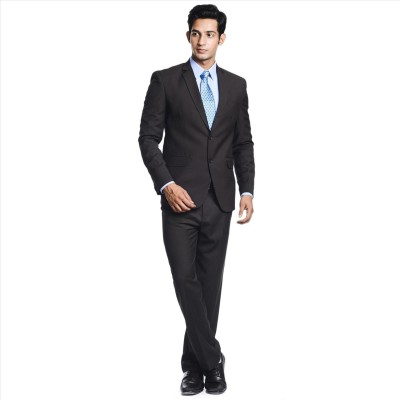 Adam In Style Brow Hawk Single Breasted Solid Men's Suit