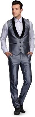 Platinum Studio Solid Men's Suit