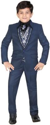 Kute Kids Coat Suit Solid Boy's Suit