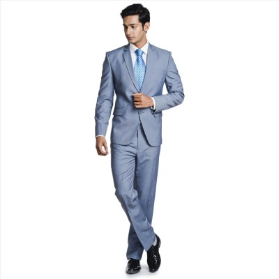 Adam In Style Zoom lite Single Breasted Solid Men's Suit