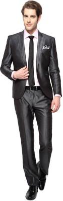 Van Heusen Single Breasted Solid Men's Suit