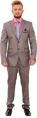Maveric Single Breasted Solid Men's Suit