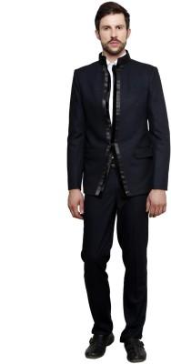 Richard Cole Mandarin Solid Men's Suit