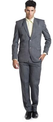 Wintage OCM Merino Wool Solid Men's Suit