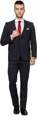 Allen Solly Single Breasted Solid Men's Suit