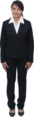 Romano Classy Single Breasted Solid Women's Suit