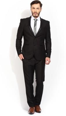 Blackberrys Single Breasted Self Design Men,s Suit