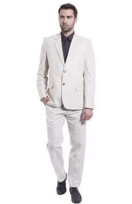 Wintage Formal Suit Solid Men's Suit