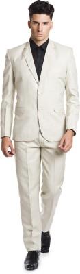 Wintage OCM Mill Linen Solid Men's Suit