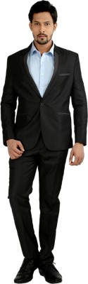 Oxemberg Single Breasted Solid Men's Suit