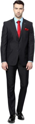 Allen Solly Single Breasted Striped Men's Suit