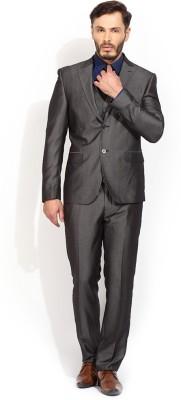 Blackberrys 3 Piece Suit Solid Men,s Suit