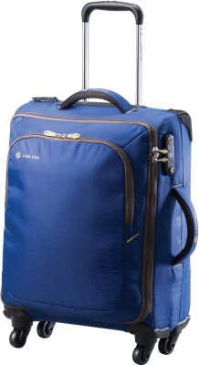 Carlton Tribe II Expandable Spinner Trolley Case 55 cm Cabin Luggage - 21.6