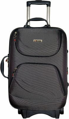 Grevia Bags 8100_26_Black Expandable  Check-in Luggage - 26