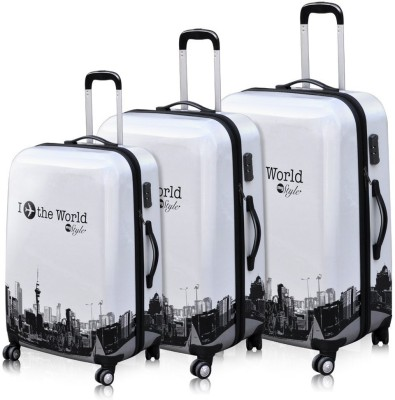 Fidato ABS-360- THREE PIECE COMBO Check-in Luggage - 28