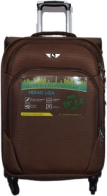 Texas USA 1208 Expandable Check-in Luggage - 24