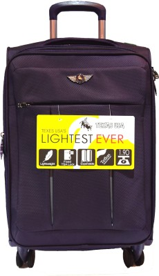 Texas USA 5004s Expandable  Check-in Luggage - 24