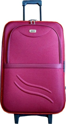 Shine Basics 24 Inches Concealed Handle. Check-in Luggage - 24