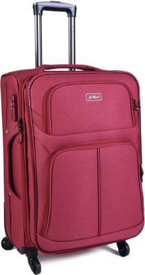 EUROLARK INTERNATIONAL Location Expandable Cabin Luggage - 21 inch(light red)