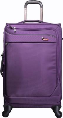F Gear Dollar Purple Strolley Suitcase 20 Inch Cabin Luggage - 20
