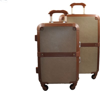 Xpender WOODEN PRINTED Expandable  Check-in Luggage - 27.2