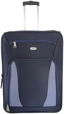 Timus Morocco Upright Expandable Check-in Luggage - 25 inch(Blue)