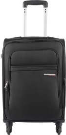 Safari NIFTY-4W-55-BLACK Expandable  Cabin Luggage - 55